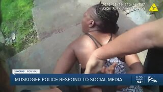 Muskogee police respond to viral video