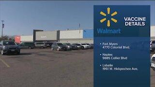 Walmart receives covid-19 vaccine