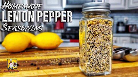 Homemade Lemon Pepper Seasoning Recipe