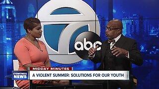 Midday Minutes: Darius Pridgen tackles youth during violent buffalo summer