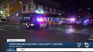 Downtown area shootings leave business owners concerned