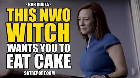 THIS NWO WITCH WANTS YOU TO EAT CAKE WHILE THEY STEAL YOUR BIRTHRIGHT