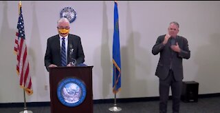Gov. Sisolak updates COVID-19 efforts in Nevada