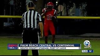 Palm Beach Central vs Centennial Football