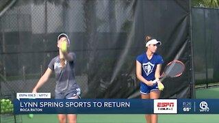 Lynn spring sports returning in 2021