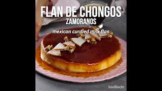 Chongos Zamoranos Flan
