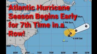 5/22/21 Tropical Update: Ana Forms in Atlantic Basin
