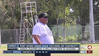 Fort Myers Green Wave football focusing on continuity in 100th season