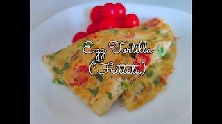 Egg Tortilla/Frittata/ Breakfast Recipes/Omelette