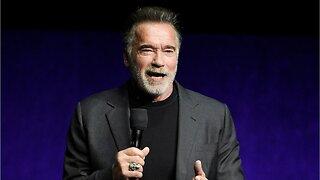 Arnold Schwarzenegger Gets Drop Kicked While Snapchatting