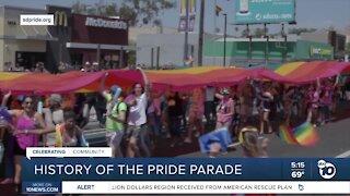 History of San Diego's Pride parade