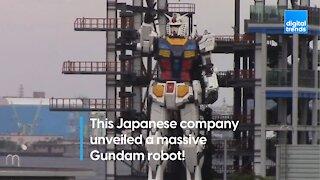 Life-Size Gundam Robot