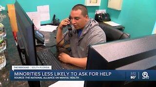 Report: Minorities less likely to seek mental health, substance abuse help