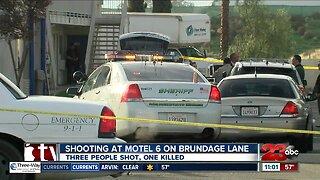 Shooting at Motel 6 on Brundage Lane leaves one dead