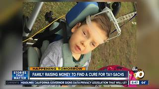 Local family holds fundraiser to fight Tay-Sachs