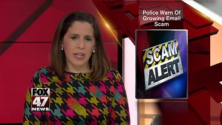 Michigan State Police warns of malicious email campaign