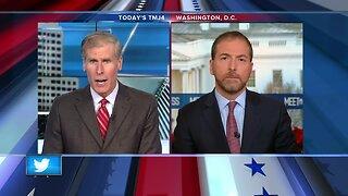 NBC's Chuck Todd talks to TODAY'S TMJ4's Charles Benson