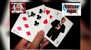 MASSIVE BOMBSHELL PROOF (764) ELECTION FRAUD, TRUMP CARD!
