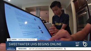 Sweetwater schools begin new school year virtually