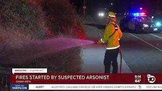Search for arsonist in Chula Vista