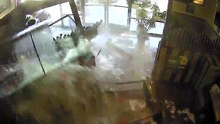 Surveillance video shows National City crash