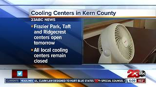 Cooling Centers in Kern County