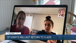 Students will continue remote learning