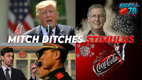 McConnell Blocks Dems $2k Covid Stimulus