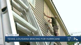 Texas, Louisiana bracing for hurricane