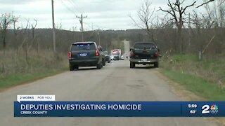 Creek County deputies arrest homicide suspect