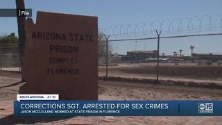 Correctional Sergeant arrested on sexual assault, kidnapping charges