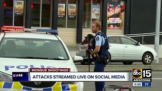 Social media sites working to remove video of New Zealand mosque attack