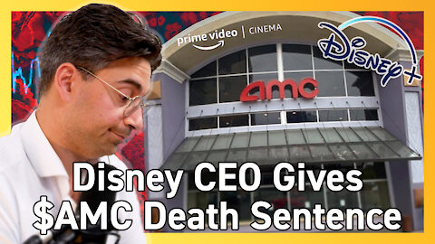 Disney CEO Indicates Theatrical Window Forever Changed - Bad News for AMC Theatres