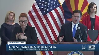Governor issues 'stay at home' order for Arizona