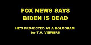 Tucker Says Biden Is Dead