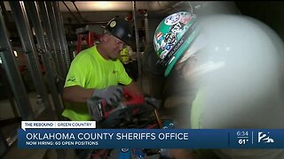 Oklahoma County Sheriffs Office Filling 60 Positions