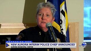 Aurora announces Vanessa Wilson will be interim police chief