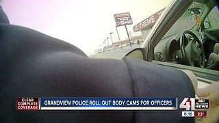 Grandview Police Department gets body cameras