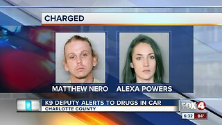 Couple arrested after K9 Deputy alerts there are drugs in the car