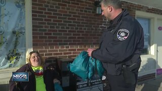 Police deliver surprise gifts