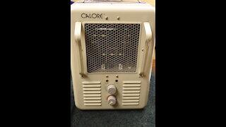 Repairing a Calore Space Heater