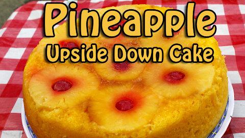Dutch Oven Pineapple Upside Down Cake