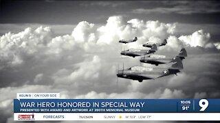 War hero honored in special way