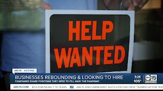 Three companies hiring right now in the Valley