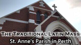 The Traditional Latin Mass - St. Anne's Parish   Sun, Dec.13, 2020