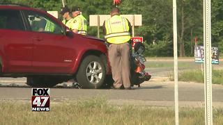 Man in critical condition following crash
