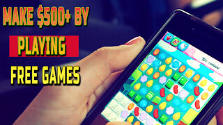 Make $500+ by Playing Free Games online money
