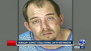 Burglary suspect steals Westminster patrol car, police say