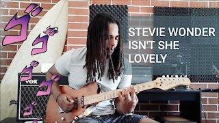 Electric Guitar Isn't She Lovely - Stevie Wonder Cover