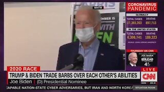 Flashback: Biden Brags About His Ability To Climb Stairs